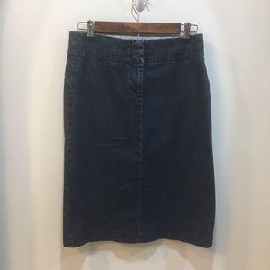 J. Crew Denim Pencil Skirt